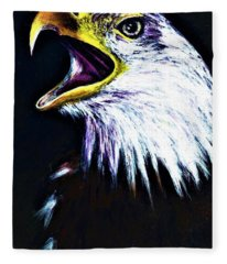 Bald Eagle - Francis -audubon Fleece Blanket