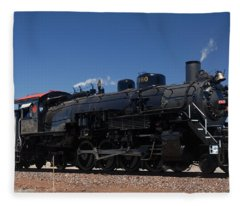 Baldwin Mikado 2-8-2 No 4960 Steam Locomotive Williams Arizona Fleece Blanket