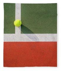 Ball On The Line Fleece Blanket