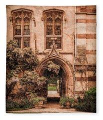 Oxford, England - Balliol Gate Fleece Blanket