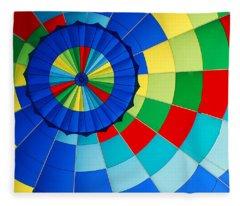 Balloon Fantasy 8 Fleece Blanket