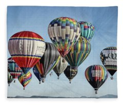 Ballooning Fleece Blanket