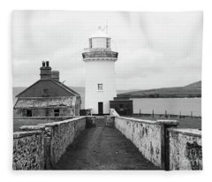Ballyglass Lighthouse Mono Fleece Blanket