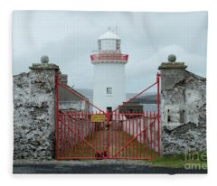 Ballyglass Lighthouse Fleece Blanket