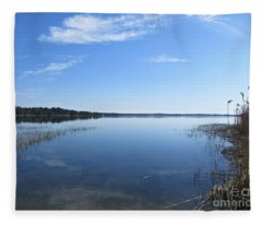 Baltic Sea Near Stensund Fleece Blanket