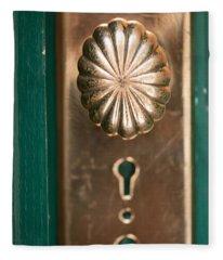 Baltimore Doorknob #1 Fleece Blanket