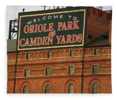 Baltimore Orioles Park At Camden Yards Fleece Blanket