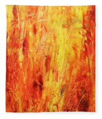 Bamboo Bush Fleece Blanket