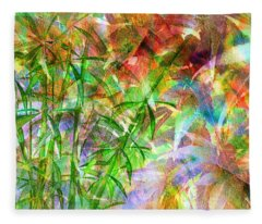 Bamboo Paradise Fleece Blanket