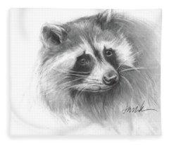 Bandit The Raccoon Fleece Blanket