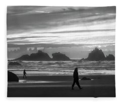 Bandon Beachcombers Fleece Blanket