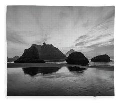 Bandon Pillars Fleece Blanket
