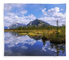 Banff Reflection Fleece Blanket