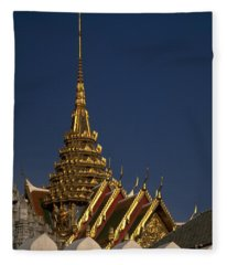 Bangkok Grand Palace Fleece Blanket