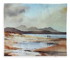 Banna Strand, Kerry...dscfo510 Fleece Blanket