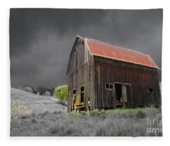 Barn Life Fleece Blanket