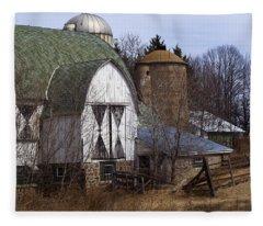 Barn On 29 Fleece Blanket