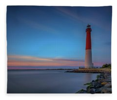 Barnegat Inlet Fleece Blanket