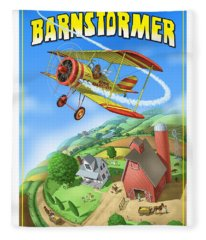 Barnstormer Fleece Blanket