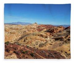 Barren Desert Fleece Blanket