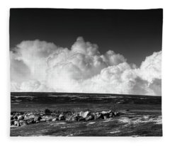 Barrens Clouds Fleece Blanket