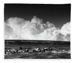 Barrens Clouds Fleece Blanket