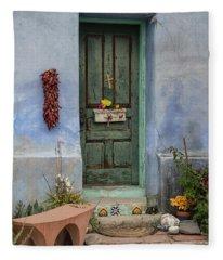 Barrio Door Fleece Blanket
