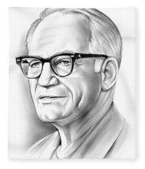 Barry Goldwater Fleece Blanket