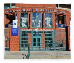 Baseball Stadium Fleece Blanket
