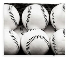Baseballs Fleece Blanket