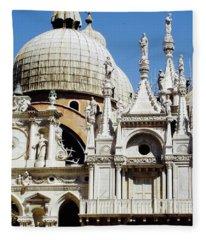 Basilica Di San Marco, Venice Fleece Blanket