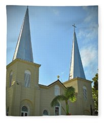 Basilica Of Saint Mary Star Of The Sea Fleece Blanket
