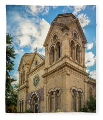 Basilica Of St. Francis Of Assisi Fleece Blanket