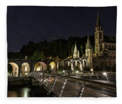 Basilica Of The Immaculate Conception Fleece Blanket