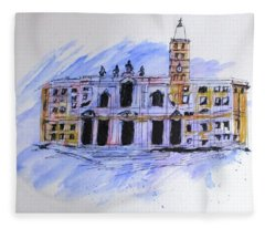 Basilica St Mary Major Fleece Blanket