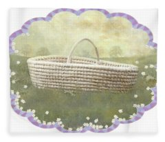 Basket Fleece Blanket