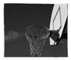 Basketball Court Fleece Blanket