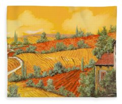 Bassa Toscana Fleece Blanket