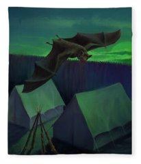 Batfly Fleece Blanket