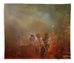Bathed In Light Fleece Blanket
