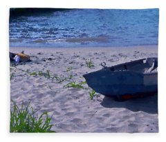 Bather By The Bay Fleece Blanket