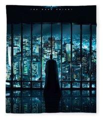 Batman The Dark Night Fleece Blanket