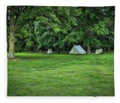 Battlefield Camp 2 Fleece Blanket