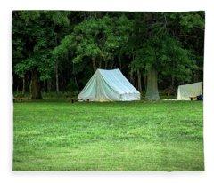 Battlefield Camp Fleece Blanket