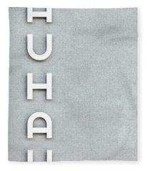 Bauhaus Phone Case Fleece Blanket