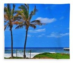 Bay Of Plenty 2 Fleece Blanket
