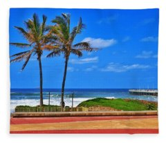 Bay Of Plenty Fleece Blanket