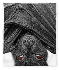 Be Afraid  Fleece Blanket