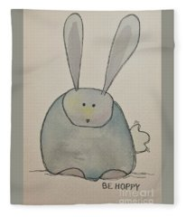 Be Hoppy Fleece Blanket