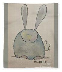 Be Hoppy Fleece Blanket